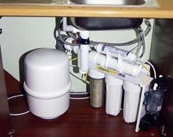 Установка фильтра очистки воды в Самаре, подключение фильтра очистки воды в г.Самара